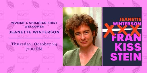 Author Reading: FRANKISSSTEIN by Jeanette Winterson