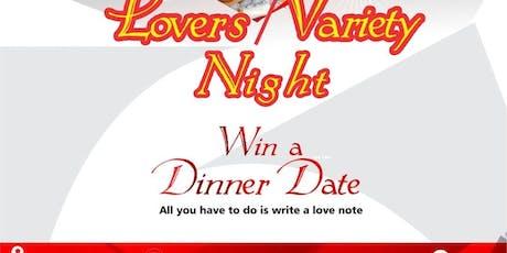Lover's -Variety Night tickets