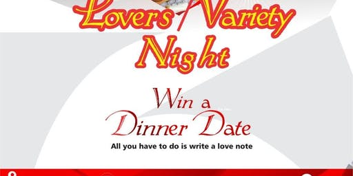 Lover's -Variety Night