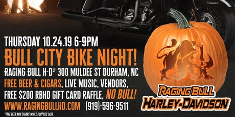 Bull City Bike Night! tickets