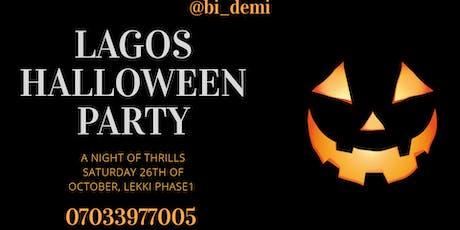 Lagos Halloween Party tickets