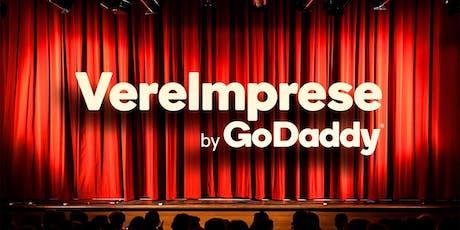Concorso Vere Imprese by GoDaddy: evento di premiazione biglietti