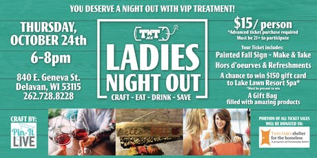 TNT Ace - Ladies Night Out tickets