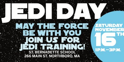 Join us for a Jedi Training Day!