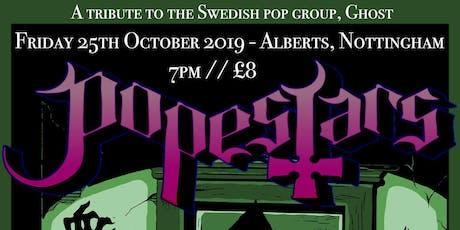 Popestars Sermon at Alberts, Nottingham 25/10/19 w. Luna's Call tickets