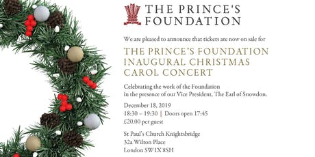The Prince's Foundation Christmas Carol Concert tickets