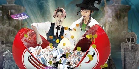 Halloween Bingo billets
