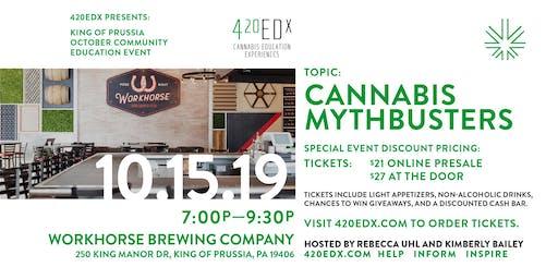 420EDx KoP Community Education Event: Cannabis Mythbusters
