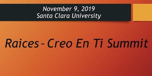 Raices - Creo En Ti Summit 2019