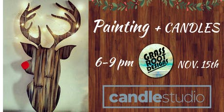 Light Up Rudolf Painting + Candle Making! tickets
