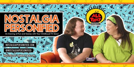 "Nickelodeon's ""All That"" LIVE w/ Danny Tamberelli & Lori Beth Denberg tickets"