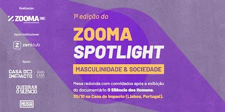 Zooma Spotlight - Masculinidade & Sociedade tickets