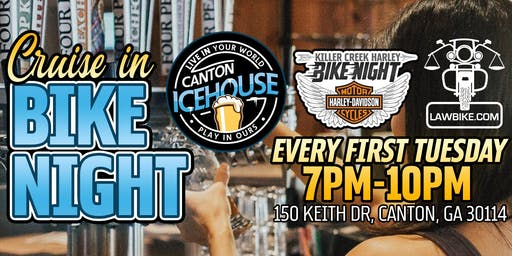 KCHD Bike Night at Canton Icehouse!