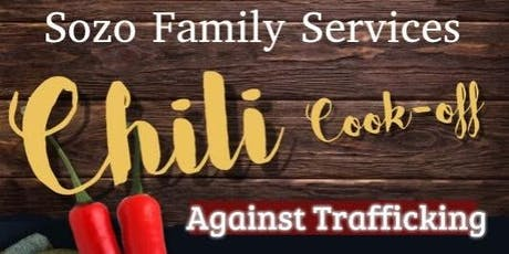 Sozo Family Services Chili Cook-Off Against Trafficking tickets
