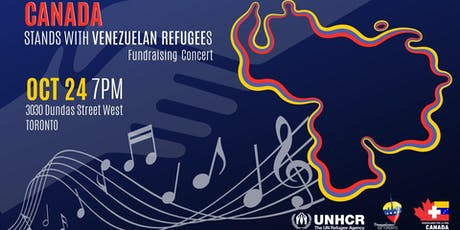 Let's Stand with Venezuelan Refugees Fundraising Concert tickets