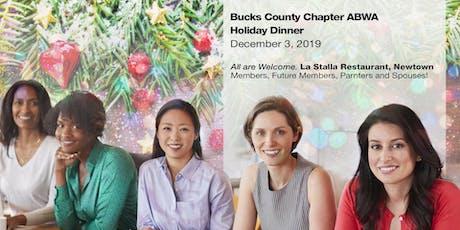 Bucks County Chapter ABWA Holiday Dinner tickets