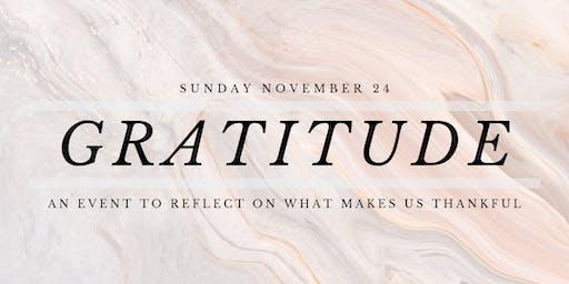 Gratitude and Grace Event