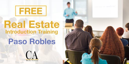 Free Real Estate Intro Session - Paso Robles