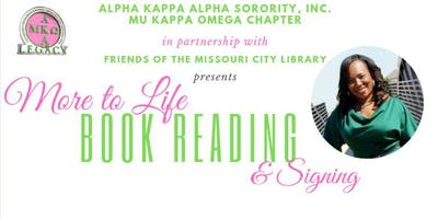 More to Life Book Reading and Signing