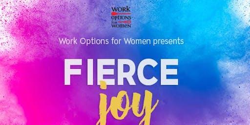 Work Options for Women presents: Fierce Joy, a night with Susie Rinehart