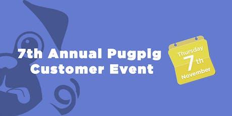 Pugpig Annual Customer Event tickets