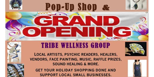Rainbow Saturday Pop-Up Shop & Tribe Wellness Grand Opening