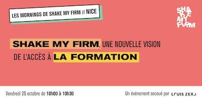 Shake my Firm, une nouvelle vision de l'accès à la formation