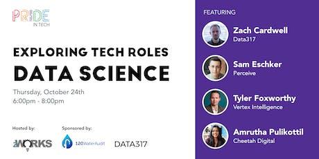 Pride IN Tech presents Tech Roles: Data Science tickets