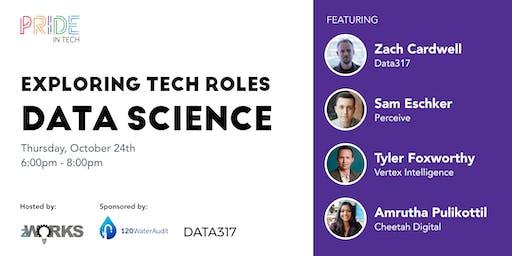 Pride IN Tech presents Tech Roles: Data Science