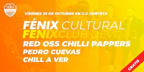 Tributo a los Red Hot Chilli Pappers + Pedro Cuevas + Chill A Ver [FENIX] entradas