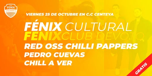 Tributo a los Red Hot Chilli Pappers + Pedro Cuevas + Chill A Ver [FENIX]