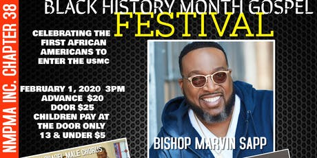 Crystal Brown 7th Annual Black History Month Gospel Festival Celebrating Montford Point Marines tickets