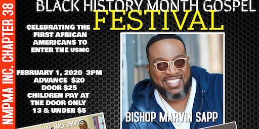 Crystal Brown 7th Annual Black History Month Gospel Festival Celebrating Montford Point Marines