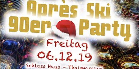 ZuP Christkindlmarkt  am Schloss mit 90er-Party Tickets
