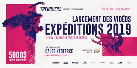 Trenchers - Lancement des vidéos des expéditions 2019 avec Caleb Kesterke billets