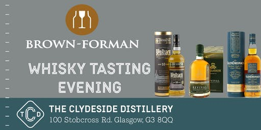 Brown Forman Whisky Tasting at The Clydeside Distillery