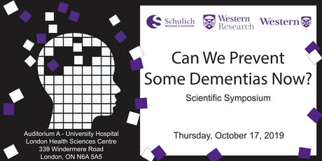 Can We Prevent Some Dementias Now? tickets