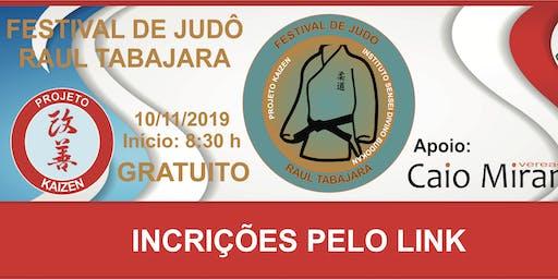 FESTIVAL DE JUDÔ RAUL TABAJARA
