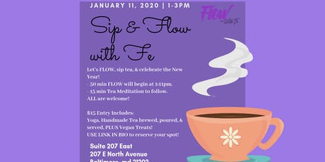 Sip and FLOW with Fe! tickets