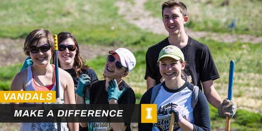 Vandals Make a Difference - Magic Valley Service Day Project