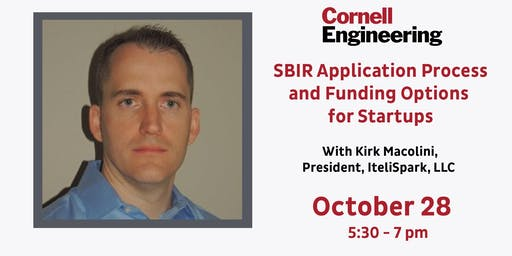SBIR Application Process and Funding Options for Startups