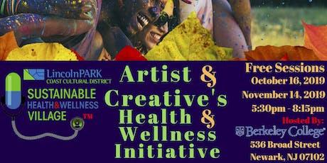 Artist & Creative's Health & Wellness Initiative tickets