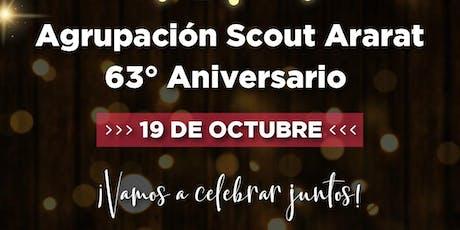 63° Aniversario y Cambio de Jefatura Agrupación Ar entradas