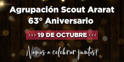 63° Aniversario y Cambio de Jefatura Agrupación Ar