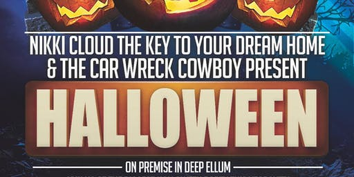 3rd Annual Car Wreck Cowboy & The Key Halloween Party!