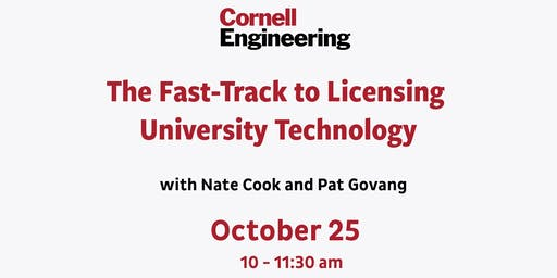 The Fast-Track to Licensing University Technology