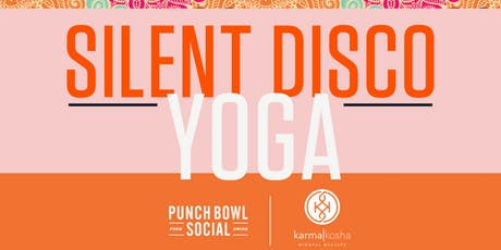 Silent Disco Yoga on the Patio! tickets