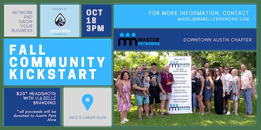 Fall Kickstart Networking Event South Austin
