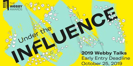 Webby Talks: Under The Influence tickets