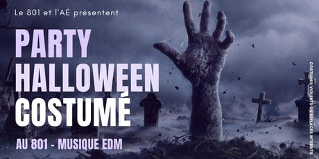 Party d'Halloween tickets